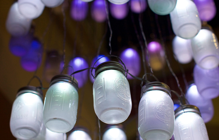 Mason Jar LED Lights and Creativity at SALT Conference