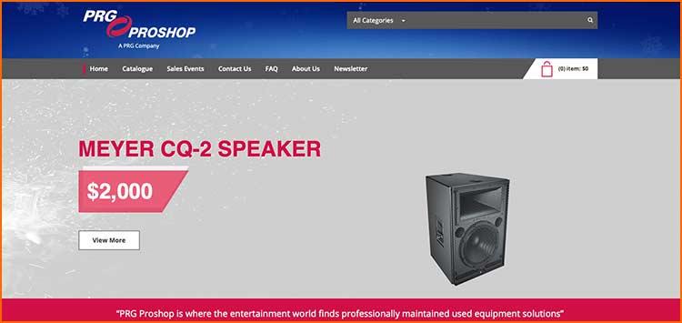 Prg Proshop - Used Production equipment websites